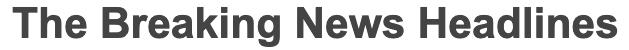 Breaking News Headlines Logo